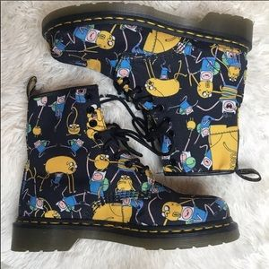 Dr. Martens Adventure Time Air Wair combat boots